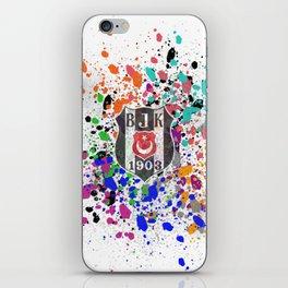 Watercolor Besiktas jk iPhone Skin