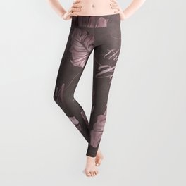 Enjoy The Day Glamour Calligraphy Leggings