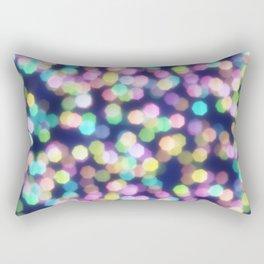 Coloured Bokeh Rectangular Pillow