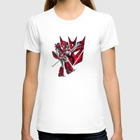transformers T-shirts featuring Transformers Air Guitar'n Con by Laserbot