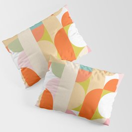 Festive Geometry - Pattern Pillow Sham