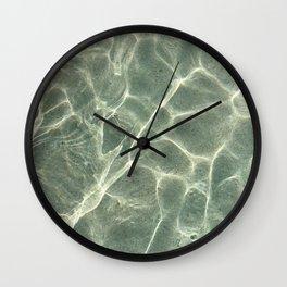 Shallow Water Wall Clock