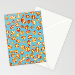 Gemstone Field Stationery Cards