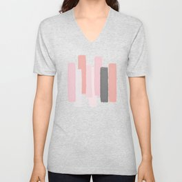 Rising #society6 #abstractart Unisex V-Neck