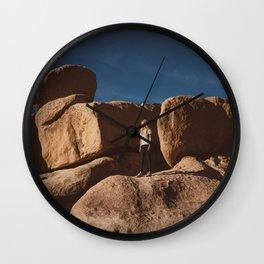 Joshua Tree National Park XII Wall Clock