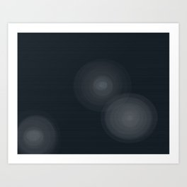 Star Beams Art Print