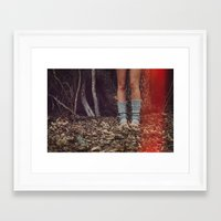 chelsea Framed Art Prints featuring Chelsea by Anthony Gauna