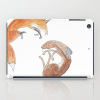 hare iPad Cases featuring hare by andsewon