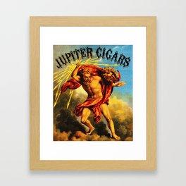 Vintage Jupiter Cigars Ad Framed Art Print