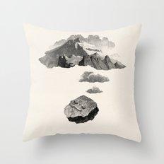 Boulder Dreams Throw Pillow