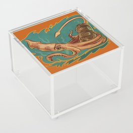 Squid & Tiki Acrylic Box