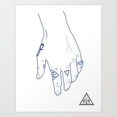 Make My Hands Famous - Part I Art Print
