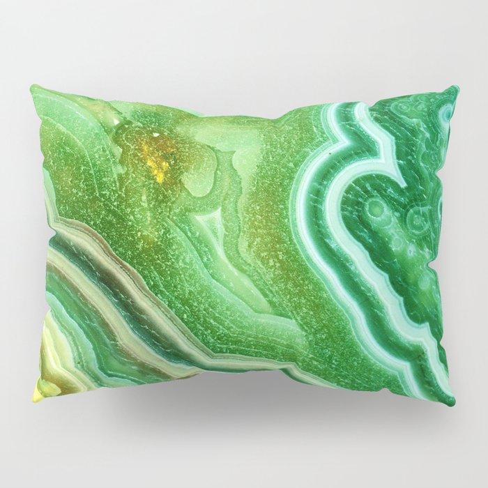 Green Onyx Marble Pillow Sham