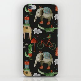 Cozy Zoo iPhone Skin