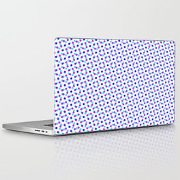 PINK & BLUE DOT Laptop & iPad Skin