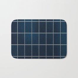 Solar Panel Pattern (Color) Bath Mat