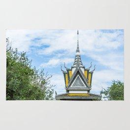 Killing Fields Memorial Stupa, Cambodia Rug