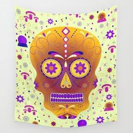 Skully Wall Tapestry