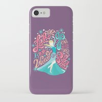 risa rodil iPhone & iPod Cases featuring Snow Queen by Risa Rodil