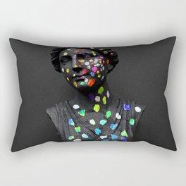 When She Thought of Stars Rectangular Pillow