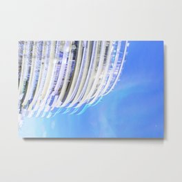 Cloudgate Metal Print