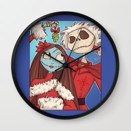 Sally and Jack Wall Clock