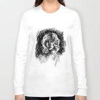 salt water Long Sleeve T-shirts featuring Salt by Kate Plourde