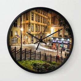 Vieux Lyon Wall Clock