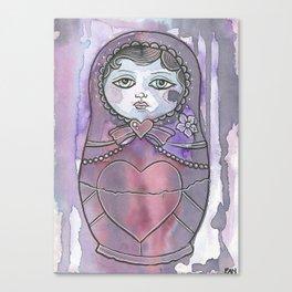 Nan the Nesting Doll Canvas Print