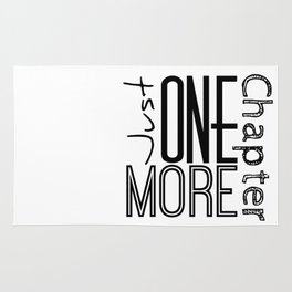 Just One More Chapter Rug