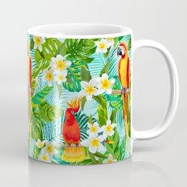Tropical Parrot Chillin Coffee Mug