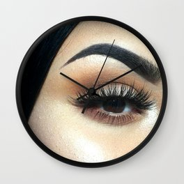Lashes For Days Wall Clock