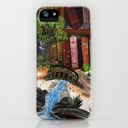 Book Experience iPhone Case