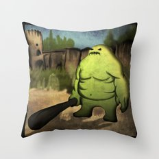 Bridge Guardian Throw Pillow