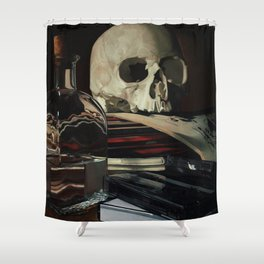 Vanitas Shower Curtain
