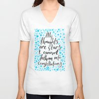 tfios V-neck T-shirts featuring TFIOS by IndigoEleven