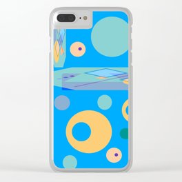 Groovy Psycho Olives Clear iPhone Case