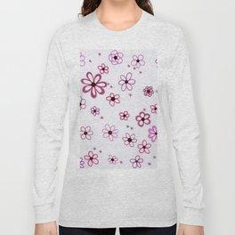 Pink Posies Long Sleeve T-shirt