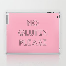 no gluten Laptop & iPad Skin