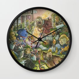Chocolate Factory Wall Clock