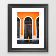 Puerta Puerto Rico #2 Framed Art Print