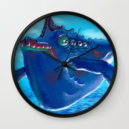 Your transport is here Wall Clock