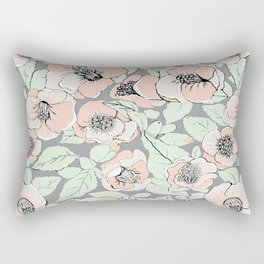 Camelia romance  Rectangular Pillow