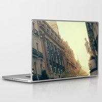 madrid Laptop & iPad Skins featuring Madrid by Mario Pantoja
