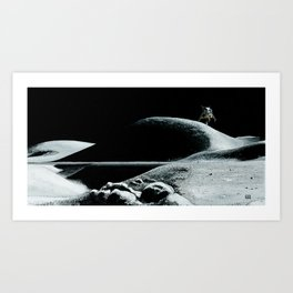 Landing at Hadley Art Print