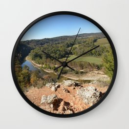 Sparrowhawk Mountain Series, No. 7 Wall Clock