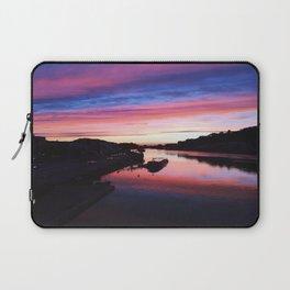 European Pink Sunset Laptop Sleeve