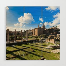 Imperial fora - Rome - Italy Wood Wall Art