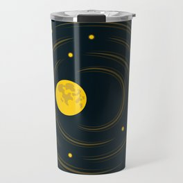 Moon And Stars Dream Travel Mug