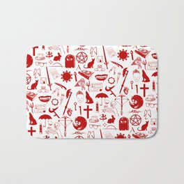 Buffy Symbology, Red Bath Mat